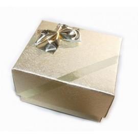 Dárková krabička na prsten - zlatá