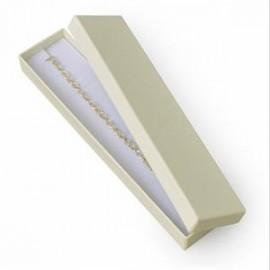 Dárková krabička na náramek krémová