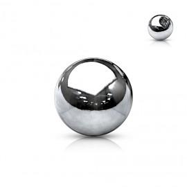 Piercing - náhradní kulička na závit 1,6 mm