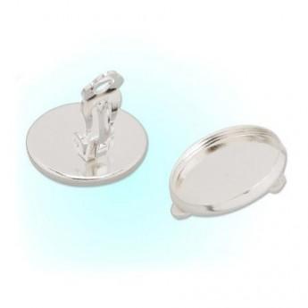 Náušnicové zapínání - klips, lůžko 14 mm