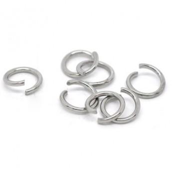 komponenty - ocelový kroužek 1,6x10  mm