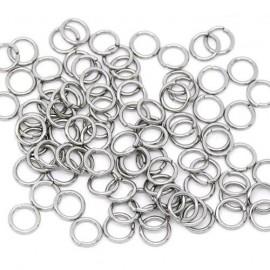 komponenty - ocelový kroužek 0,7x4 mm