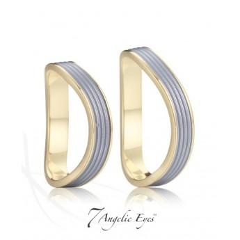 Snubní prsteny chirurgická ocel 1 pár AE029