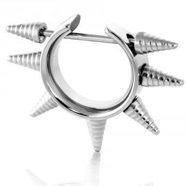 Piercing do bradavky chirurgická ocel LCNP085