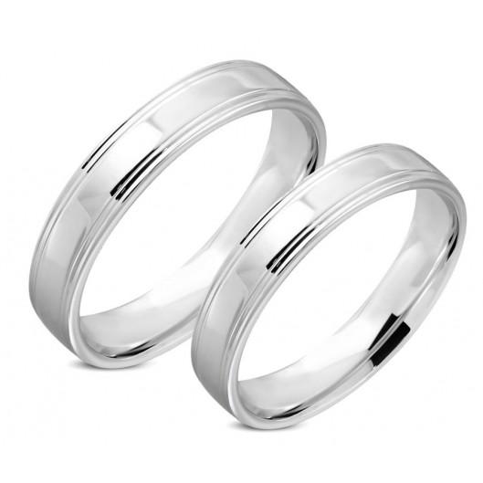 Snubní prsteny chirurgická ocel 1 pár LRRR318