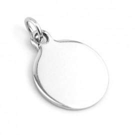 Malý ocelový přívěšek kruh 16 mm