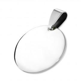 Ocelový přívěšek kruh 20 mm