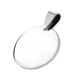 Ocelový přívěšek kruh 15 mm