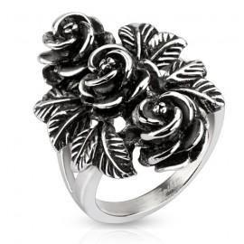 Prsten chirurgická ocel růže HWRD5064
