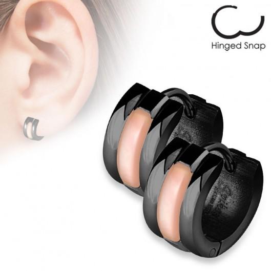 Naušnice kroužky chirurgická ocel HWSEZ18020k