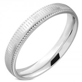 Snubní prsteny chirurgická ocel 1 pár LRRR319