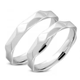 Snubní prsteny chirurgická ocel 1 pár LRRR310