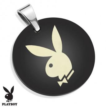 Destička kulatá chirurgická ocel Playboy HWPBSP007