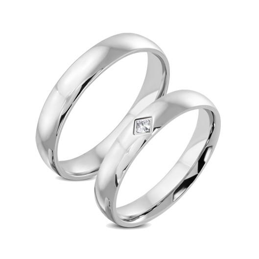 Snubní prsteny chirurgická ocel 1 pár LPRB1267