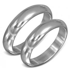 Snubní prsteny chirurgická ocel 1 pár LZRO085