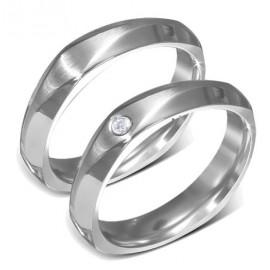 Snubní prsteny chirurgická ocel 1 pár LVRD1034
