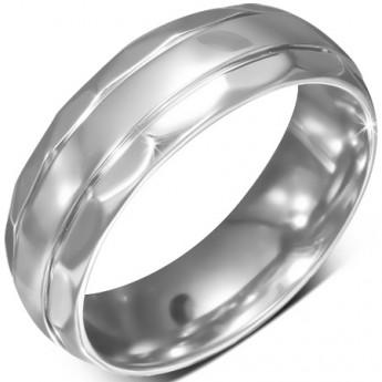 Prsten chirurgická ocel LRRR180-1