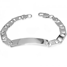 Činka industrial chirurgická ocel ještěrka HWBSP18