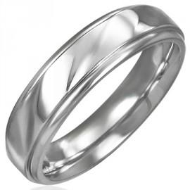 Snubní prsteny chirurgická ocel 1 pár LRWI0878