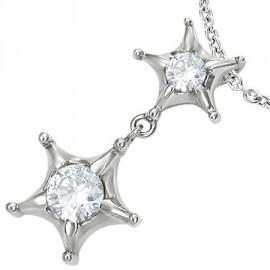Přívěsek chirurgická ocel hvězdy LUPM123