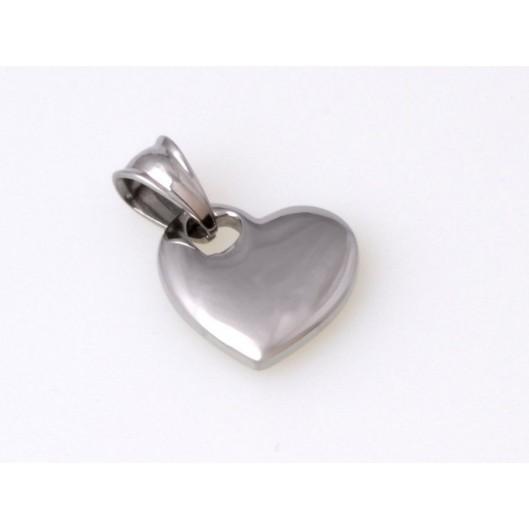Přívěsek chirurgická ocel srdce K29723