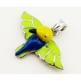 Přívěsek chirurgická ocel kolibřík M090320P