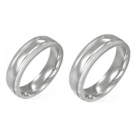 Snubní prsteny chirurgická ocel 1 pár LLRC088