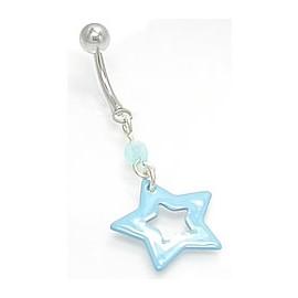 Piercing do pupíku hvězda PPMN926