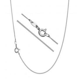 """Stříbrný řetízek """"pancer"""", tl. 1,3 mm, délka 45 cm"""