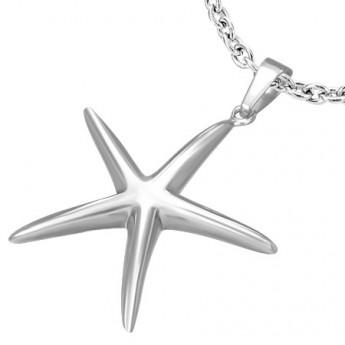 Přívěsek chirurgická ocel hvězdice LDPA338