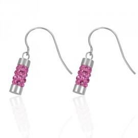 Naušnice chirurgická ocel se Swarovski krystalky LEES090