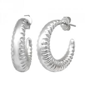Naušnice kroužky chirurgická ocel LIEB021