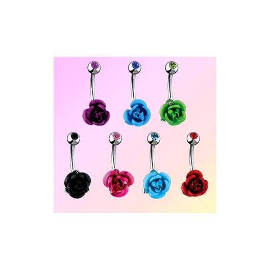 Piercing do pupíku růže HWNSK96