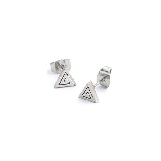 Naušnice pecky trojúhelníčky chirurgická ocel ESS48