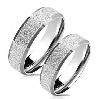 efd3889ee Snubní prsteny chirurgická ocel HKOPR0077 Snubní prsteny z ...