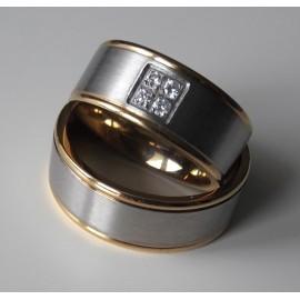 Snubní prsteny chirurgická ocel MAR044
