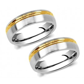 Snubní prsteny chirurgická ocel SRC2129