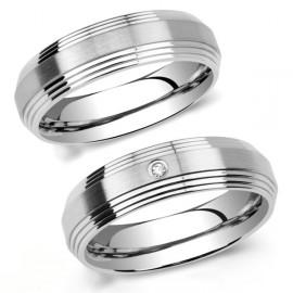 Snubní prsteny chirurgická ocel SRRC2030