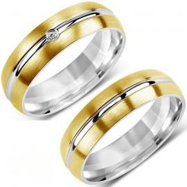 Snubní prsteny chirurgická ocel SRRC2047