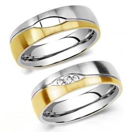 Snubní prsteny chirurgická ocel SRRC2051