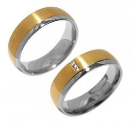Snubní prsteny chirurgická ocel SRRC2046