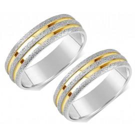 Snubní prsteny chirurgická ocel SRRC22700