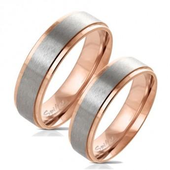 Snubní prsteny chirurgická ocel HKOPR0074
