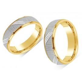 Snubní prsteny chirurgická ocel OKRRC140S