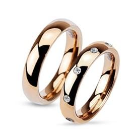 Snubní prsteny chirurgická ocel HKOPR0016-4ZRx