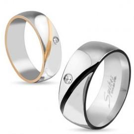 Snubní prsteny chirurgická ocel OKRM3909