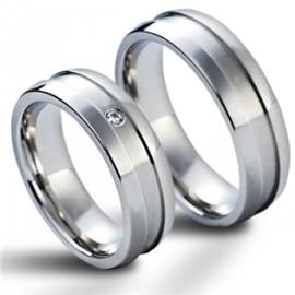 Snubní prsteny chirurgická ocel MAR003