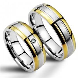 Snubní prsteny chirurgická ocel SRC2044