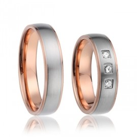 Snubní prsteny chirurgická ocel SRC2027