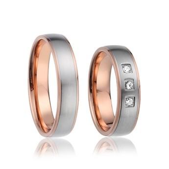 Snubní prsteny chirurgická ocel AE018